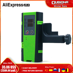 Clubiona 50M Outdoor Pulse Mode Red or Green beam Line Laser Level Vertical And Horizontal Laser Detector or Receiver