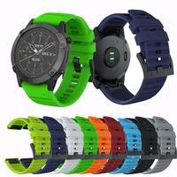 Für Garmin fenix 5X mode klassische Uhr Strap Silikon Band Für Garmin Fenix 5X Quick Release Strap Für Garmin Fenix 5X bands