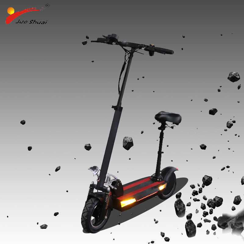 Free Shipping Distance 100km Electric Scooter 500W 48V 26AH 10inch Electric Kick Skateboard Patinete Electrico Adulto E Scooter