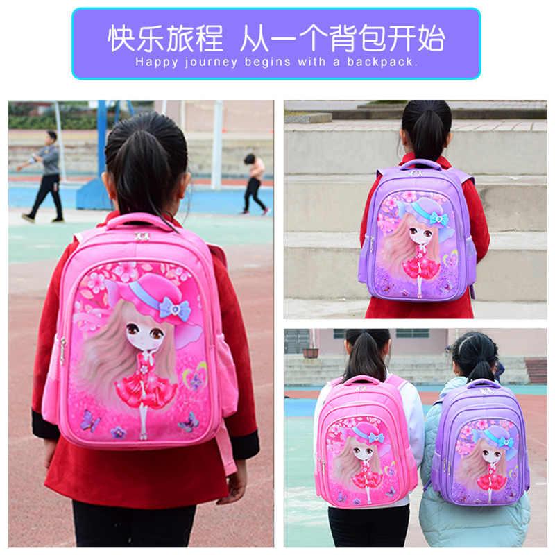 Niños Encantadores Niños una bolsa de dibujos animados Mochila mochilas escolares para los niños de la Escuela de Kindergarten Mochila bolsas niño Mochila chicas bolsas para niños