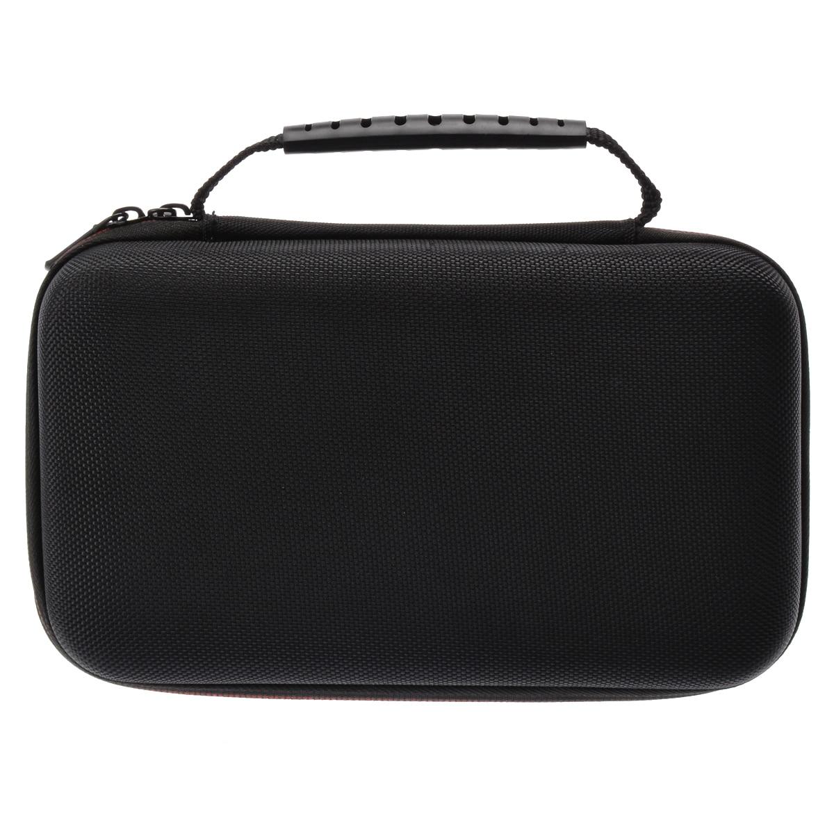 Black EVA Tester Storage Bag Carry Case Multipurpose Instrument Storage Bag For F117C/ F17B Digital Multimeter