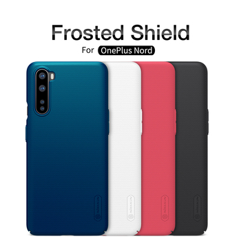 oneplus Nord case oneplus 8 Pro casing NILLKIN Frosted shield PC hard back cover For one plus 5 5T 6 6t oneplus 7/7T/7 pro case