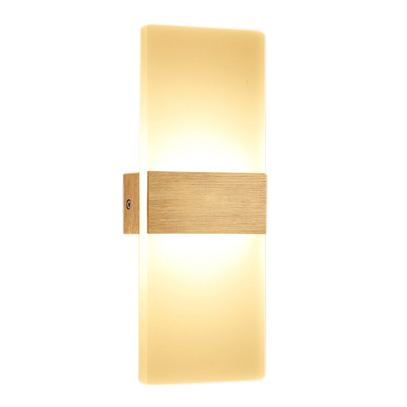 Promotion! Modern Wall Light Led Indoor Wall Lamps Led Wall Sconce Lamp Lights For Bedroom Living Room Stair Mirror Light Right