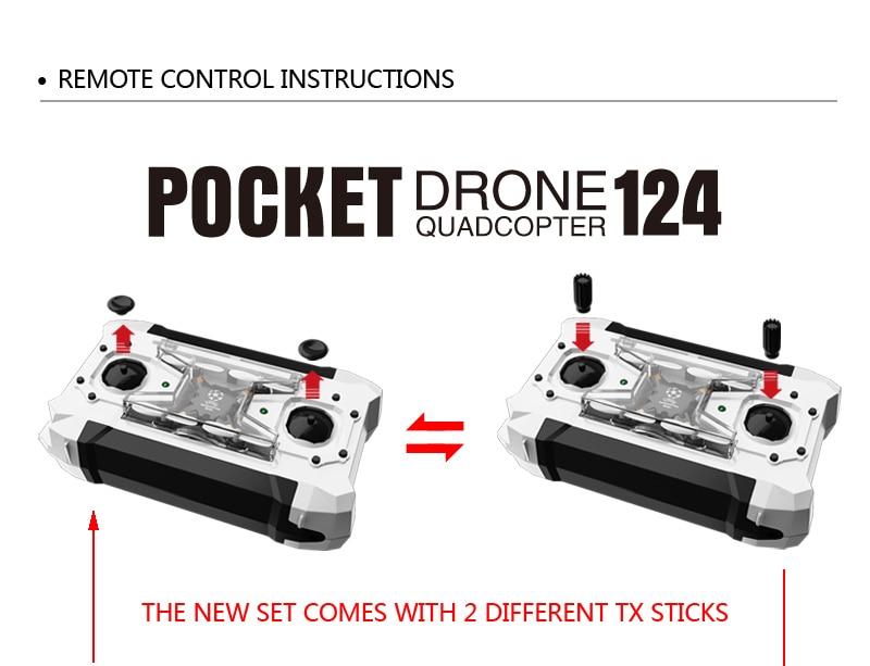 przełączane FQ777-124 mały Drone 13
