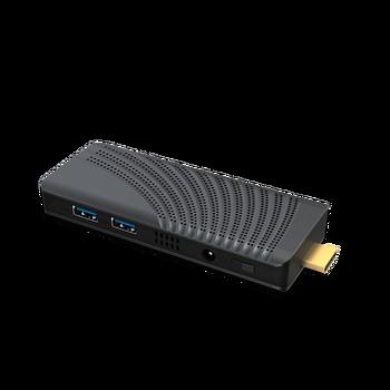 Portable Mini PC Intel Celeron J4125 Quad Core 6GB LPDDR4 128GB  2.4G/5.0G WiFi Bluetooth RJ45 HDMI 2.0  Windows 10 PC Stick
