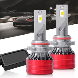 New Style LED Car Headlight F5 Automobile LED Lamp Upgrade Section Universal Car Headlight 9005 HB3