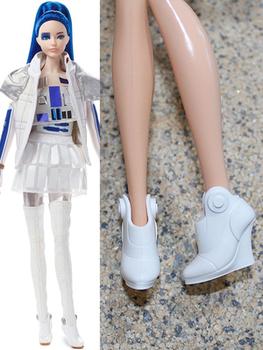 1 6 buty dla lalek sandały dekory dzieci DIY ubieranie zabawek modne buty dla lalek zabawki kolorowe akcesoria dla lalek białe niebieskie czerwone buty tanie i dobre opinie CN (pochodzenie) doll shoes