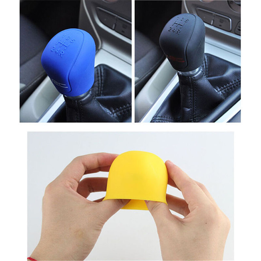 Car Shift  Handbrake Stall Cover For Mitsubishi ASX Endeavor Expo Galant Grandis Lancer Mirage Montero Peugeot 407