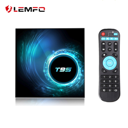 LEMFO T95 H616 Smart Android TV Box Android 10.0 Support 6K 3D YouTube Google Play Android 10 Set Top Box