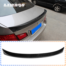 цена на 100% real carbon fiber tail spoilers wing for f10 f11 BMW 5 series 520i 528i 530i 535i 550i rear spoiler M style back trunk wing