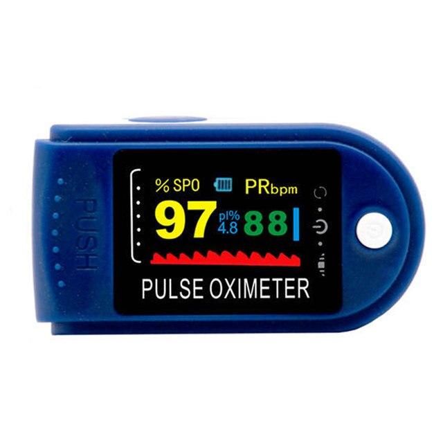 New!! Finger Pulse Oximeter Fingertip Oximetro de pulso de dedo LED Pulse Oximeters Saturator Pulsioximetro 2