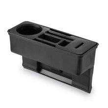 Щелевая коробка для автомобильного сиденья, органайзер, наполнитель, карман, коробка для хранения, автомобильный держатель из искусственной кожи, многофункциональные аксессуары для интерьера