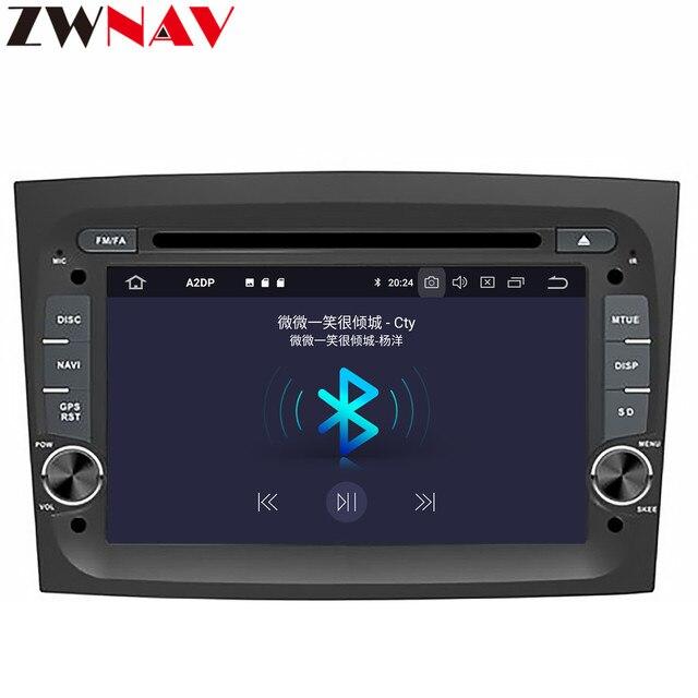 PX6 IPS 4G + 64G Android 10,0 Автомобильный DVD стерео мультимедиа головное устройство для FIAT DOBLO 2016 2017 2018 автомобильное радио GPS Navi BT аудио стерео