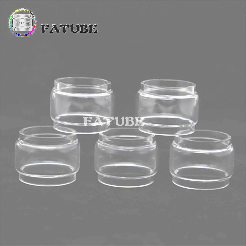 5pcs FATUBE Bubble Glass Cigarette Accessories for Kaees <font><b>Solomon</b></font> <font><b>Rta</b></font>/<font><b>Solomon</b></font> <font><b>2</b></font>/<font><b>solomon</b></font> 3 <font><b>RTA</b></font> image