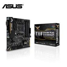 Материнская плата ASUS tuf b450m-Plus gaming am4 amd ryzen 4xddr4 HDMI DVI-D sata m.2 mATX b450 crossfire материнская плата