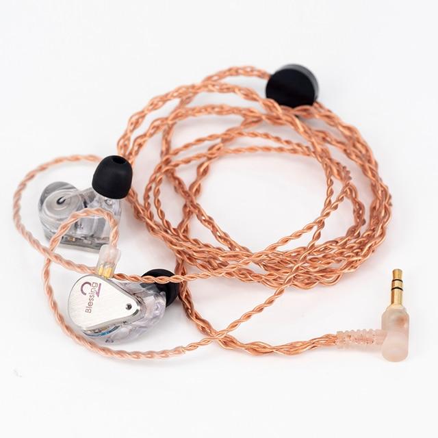 MoonDrop Blessing 2 1DD+4BA Hybrid Technology In-Ear Monitor Earphone 6
