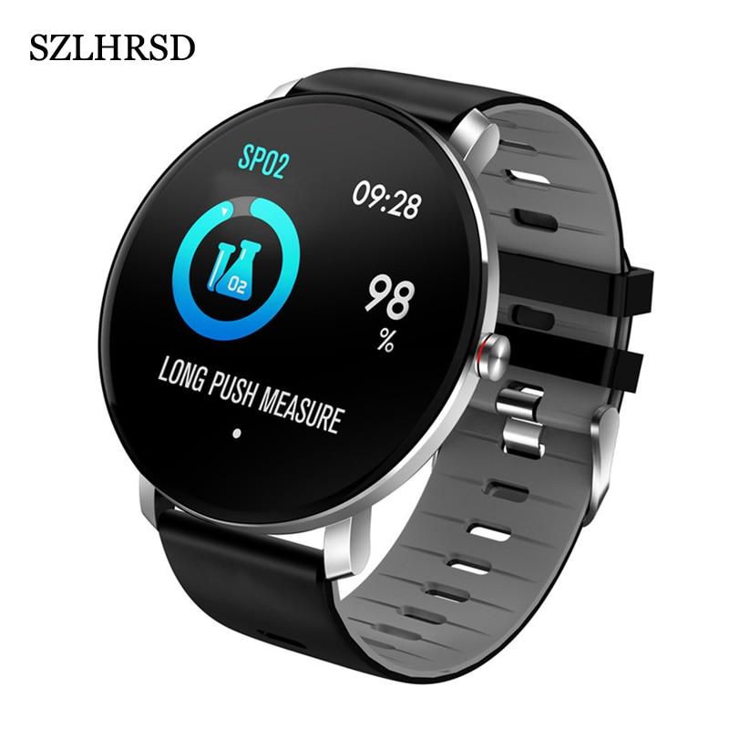 Для Honor 9X Pro Mate 20 X 5G P smart + 2019 Honor 10 Lite Смарт-часы IP68 смарт-браслет монитор сердечного ритма фитнес-упражнения