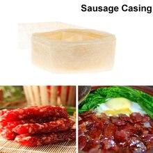 Принадлежности для упаковки съедобной колбасы 30 мм оболочка