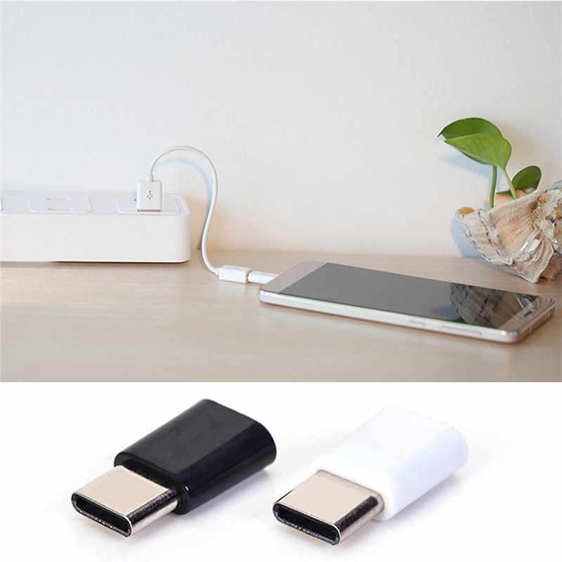 حار أندرويد Type-C إلى مايكرو USB محول واجهة الهاتف المحمول خط البيانات شحن محول لهواوي شاومي