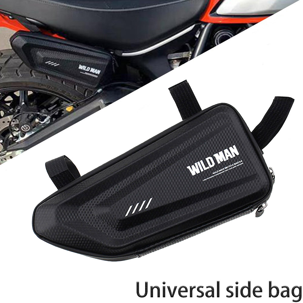 For DUCATI HYPERMOTARD 796 821 SP Diavel 1200 1250 MTS1200 Scrambler 1100 800 400 Motorcycle Modified Waterproof Triangle Bag