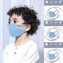 Masks Respirator Face Ice-Silk Halloween Cosplay Cotton Cute Cartoon Children for Kids
