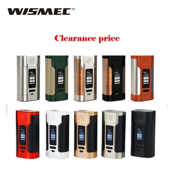 Clearance WISMEC Predator 228W TC MOD with OLED Screen 0.05-1.5ohm Resistance No 18650 Battery for Elabo Electronic Cigaette Kit