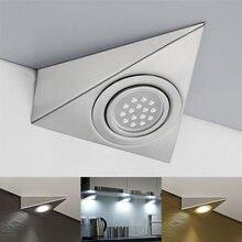 1 шт светодиодный кухонный шкаф треугольный светильник комплект