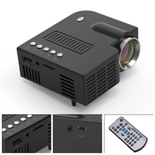 UNIC 28 Mini Portable Projector 1080p Full HD LED Projector Home Theater Entertainment Projectors USB AV TF