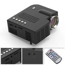 UNIC 28 Mini taşınabilir projektör 1080p Full HD LED projektör ev sineması eğlence projektörleri USB AV TF