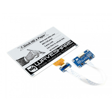 Waveshare 7.5inch HD e-Paper E-Ink Display HAT for Raspberry Pi, 880*528, Black/White,