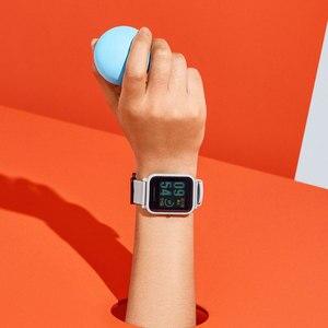 Image 5 - İngilizce sürüm akıllı saat Amazfit Bip Hua mi Mi Pace Lite IP68 GPS Gloness Smartwatch kalp hızı 45 gün bekleme