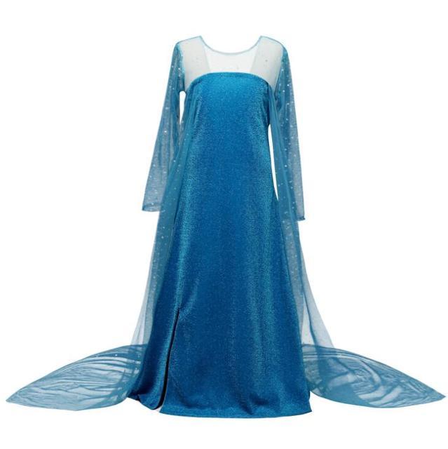 Girls Elsa Dress Birthday Party Princess Dresses Queen Frozen 2 Dresses Costume Baby Girl Halloween Party Fancy Cosplay Dress