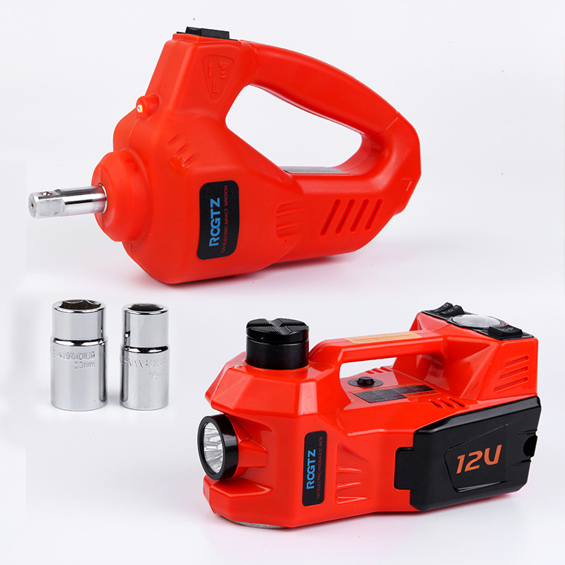 Car Electric Jack Car Equipment 12V 5T Car Jack Set Electric Wrench