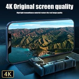Image 3 - زجاج حماية على آيفون 6 7 8 Plus XR X XS زجاج غطاء كامل آيفون 11 12 برو ماكس حامي شاشة صغير الزجاج المقسى