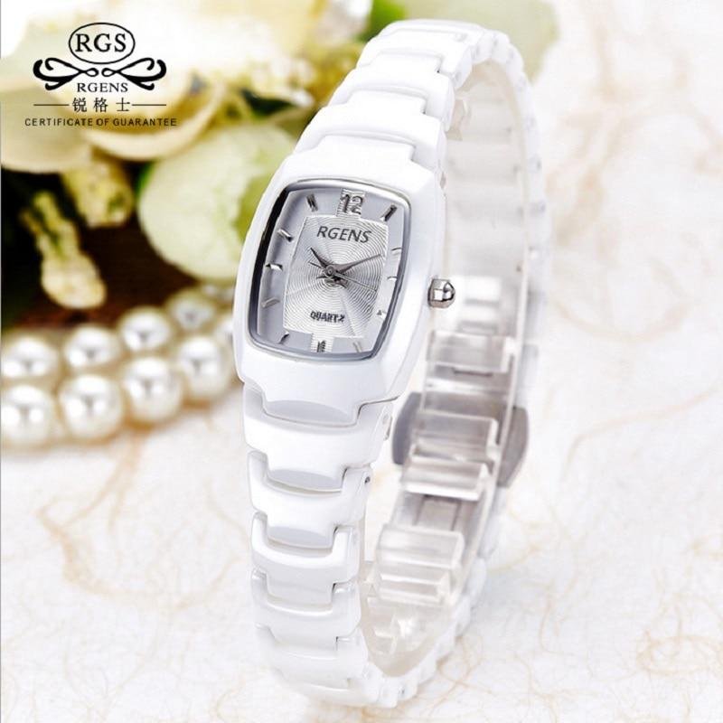 Fashion Women Ceramic Wristwatch Quartz Waterproof Woman Clocks 2018 New Casual Ladies Clocks