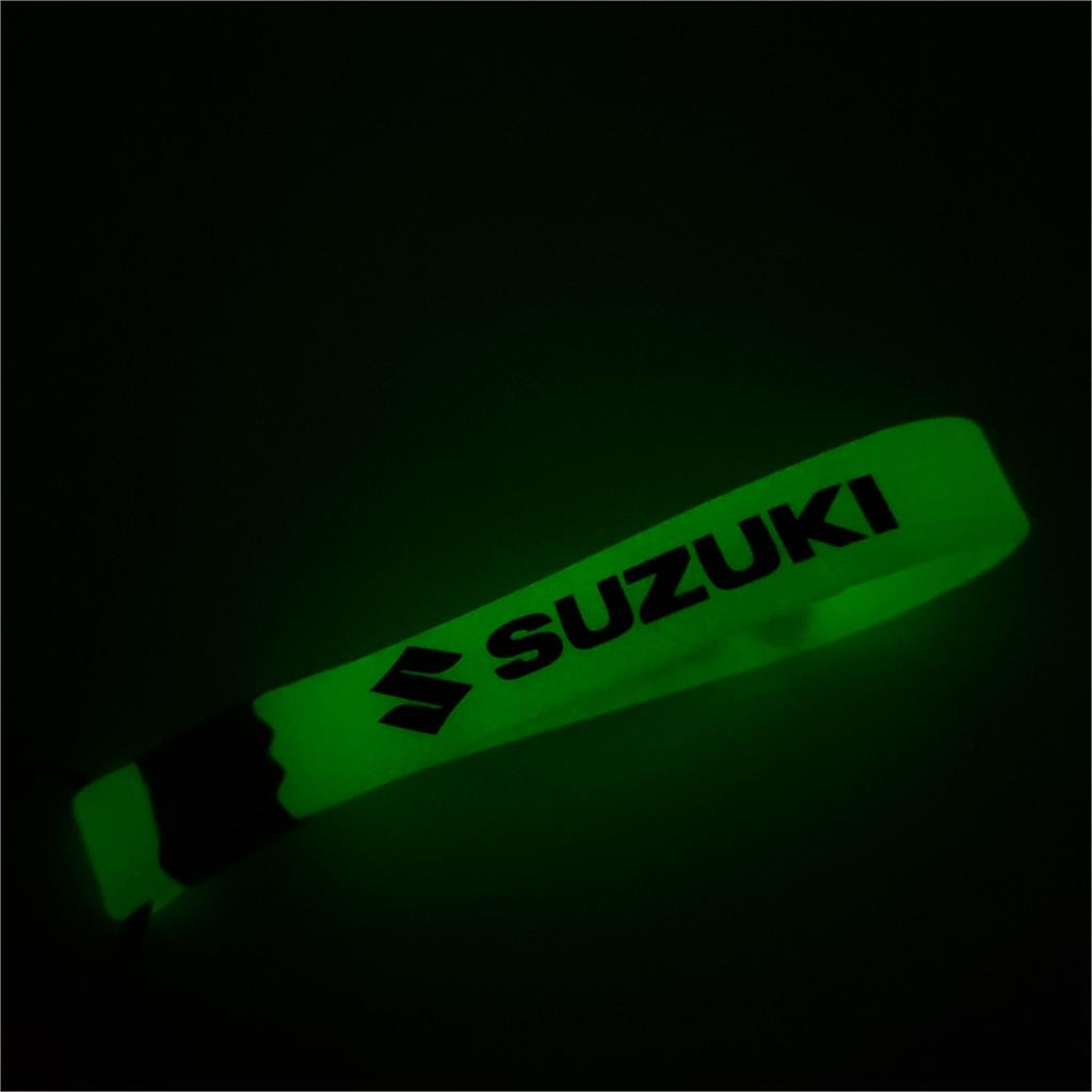 Luminous Car KeyChain Keyring Key Chain Ring For Suzuki Swift SX4 Vitara Jimny S-CROSS Auto Motorcycle Accessories Car Styling