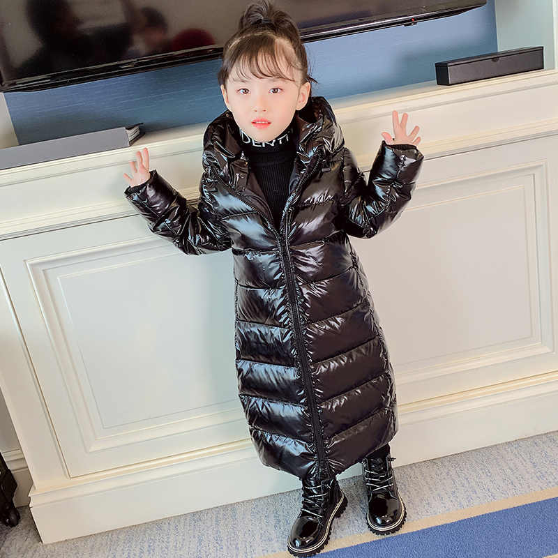 New 2019 Thick Warm Girls Winter Jacket Waterproof thick Jacket For Girls 2-12 Years Children Boys Outerwear Coat Kids Parka