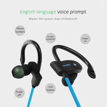 Bluetooth Earphone Wireless Bluetooth Earphones Earloop Noise Cancelling Headset Neckband life Sport In-Ear For All Smart Phones 4
