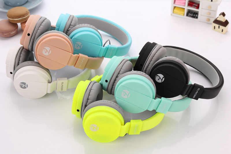 Auriculares Anak-anak Headphone Cute Anak Earphone 3.5 Mm Ikat Kepala Kabel Headset Headphone untuk Anak-anak Anak-anak Gadis Headphone Hadiah