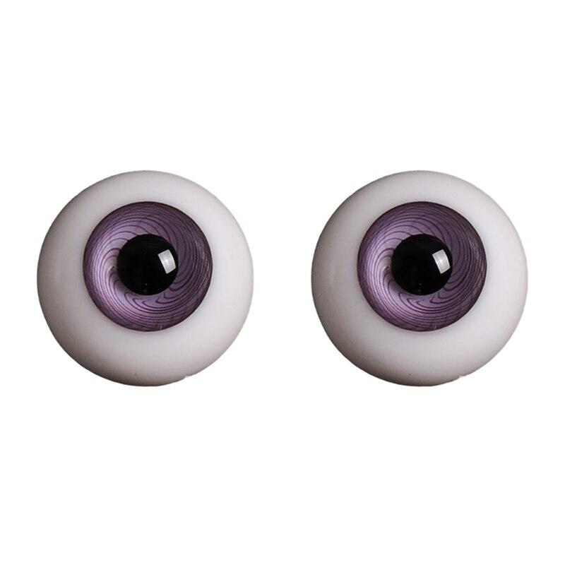 14mm 1/3 1/4 Doll Glass Eyes Doll Accessories Glasss Doll Eyeball 28