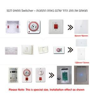 Image 5 - Wifi ボイラースマートスイッチ給湯器スイッチ音声リモコン米国標準ガラスタッチパネルタイマー屋外作業 alexa google ホーム