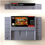 Donkey Country Kong 1 2 3 or Competition Cartridge - RPG Game Card US Version English Language Battery Save image