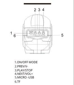 Image 5 - ברזל איש אלחוטי רמקול Bluetooth רמקול נייד soundbox עם מיקרו SD לשחק/FM פונקציות עבור טלפון מחשב tablet PC