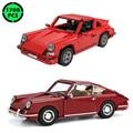 Новинка, конструктор Cada technic в стиле ретро 911RS, спортивный автомобиль, модель C61045, классический кирпичный автомобиль, серия master, игрушка, пода...