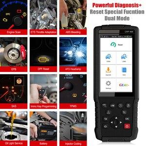 Image 4 - Uruchom CRP469 WIFI OBD2 samochodów skaner samochodowy narzędzie diagnostyczne ABS EPB DPF TPMS Reset OBD 2 Auto czytnik kodów skaner OBD2