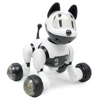 English Version Cross Border Smart Robot Dog Children's Toy Voice Controlled Induction Electric Dog Electronic Pet
