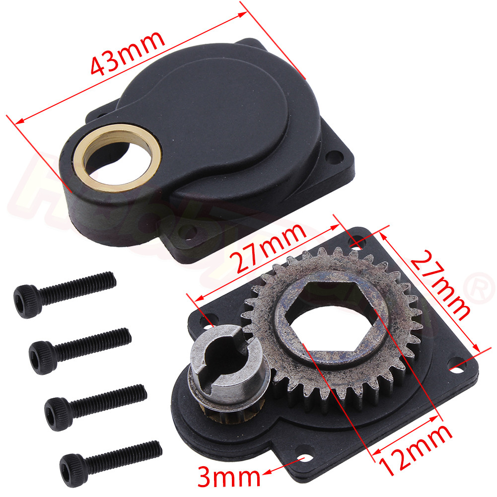 HSP 11011 Power Starter Drill Plate Parts H12 For VERTEX SH 16 18 21 Engine CXP Electric Roto Starter Backplate E-Start 70111