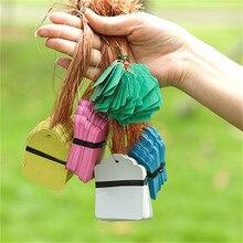 Suef многоразовые 50 шт. бирки для растений, этикетки для высева сада, цветочный горшок, пластиковые бирки, таблички с цифрами, подвесные ПВХ садовые инструменты@ 2