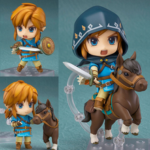 The Adventure of Link Breath of Wind Joints Movable Toy Action Figures 2 Faces Zelda 733-DX Figure Toy Action Figure Action Toys starcraft ii sarah louise kerrigan 12 starcraft2 queen of blades action figures toy