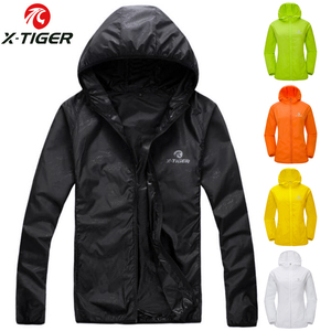 X-TIGER Windproof Reflective Cycling Jersey MTB Bike Bicycle Windcoat Super Light Sunscreen Hiking Jacket Cycling Sports Clothes